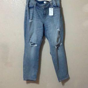 Torrid Sophia Skinny Distressed Jeans